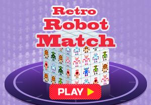 Retro Robot Match