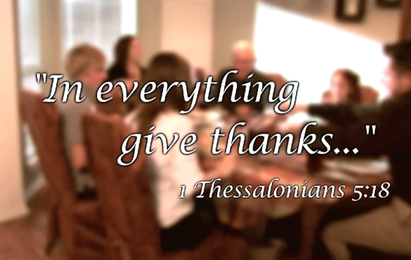 Never-ending Thanksgiving Prayer
