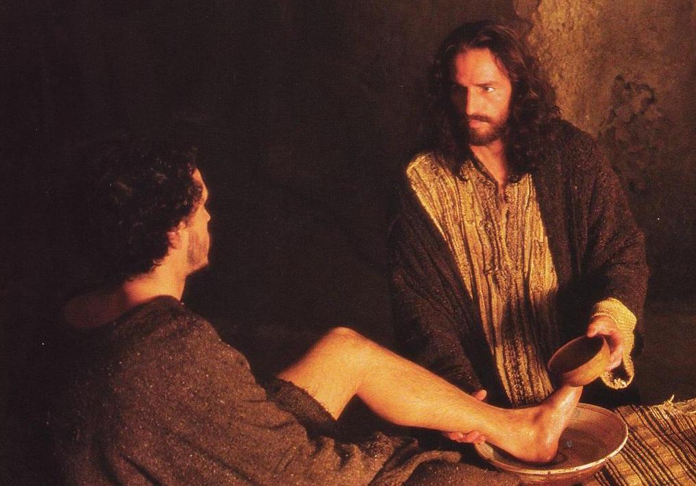 Jesus washing the Disciples' Feet