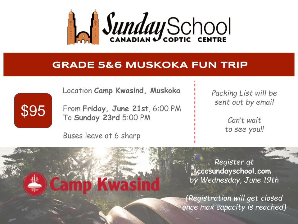 Sunday School June 2019 Trips @ Camp Kwasind
